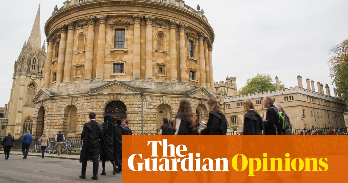 Universities are bastions of privilege  They have to change