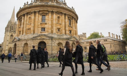 Oxford University reported the highest number of staff-on-student and staff-on-staff allegations.