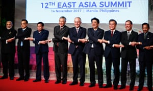 While not a member of Asean, Australia is part of the larger East Asia Summit (which also includes China).