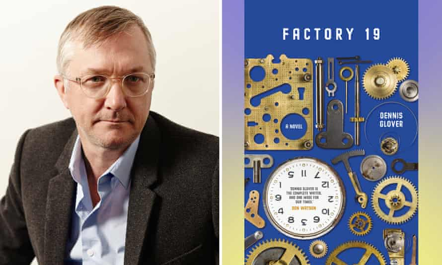 Author Dennis Glover and his new book, Factory 19.
