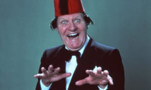 Tommy Cooper, whose plaque will be displayed in Chiswick, west London.
