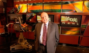 Roger Ailes in the studio. 'It's hard to really underestimate the influence he had on the media and the political landscape.'