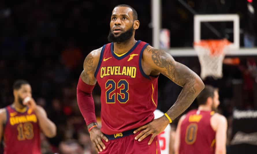 LeBron James is currently attending All-Star weekend in Los Angeles