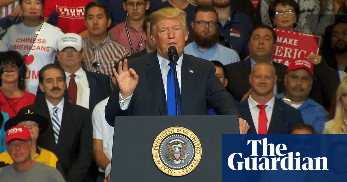 Trump says Kavanaugh has an impeccable reputation – video | US news | The Guardian