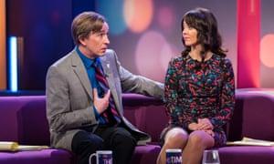 'From dismissal to fear to disgust' ... Jennie Gresham (Susannah Fielding) deals with Alan Partridge (Steve Coogan).