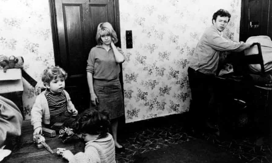 An image from Ken Loach's 1966 drama - the sense of hopelessness it conveys and the link between mental health and adequate housing are just as relevant today.