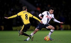 Dele Alli has made 16 appearances for Tottenham so far in the 2015/16 season, scoring on 4 occasions.