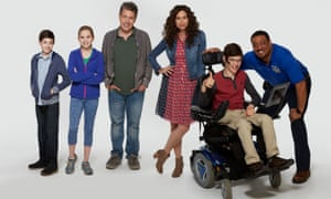 The cast of Speechless