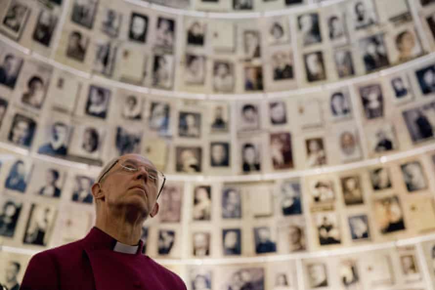 The archbishop of Canterbury visits the Yad Vashem Holocaust memorial in Jerusalem.