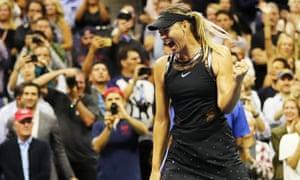 Maria Sharapova at the US Open