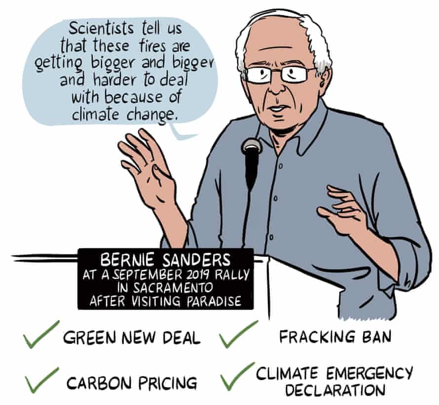 Bernie Sanders on California and climate