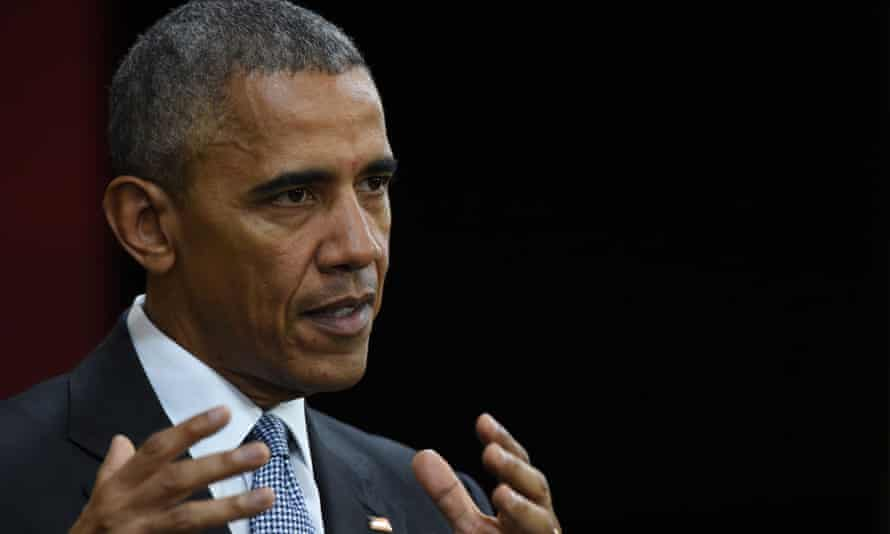 Barack Obama: 'everything is true and nothing is true.'