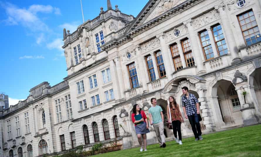 Cardiff University's main building, which is home to the schools of earth sciences, chemistry and biosciences.