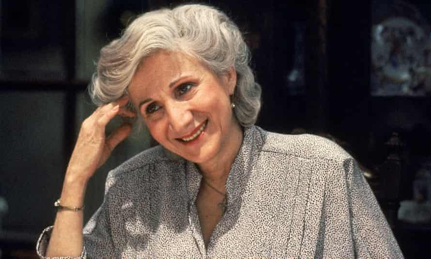 Olympia Dukakis in Moonstruck, 1987, in which she played Cher's mother.