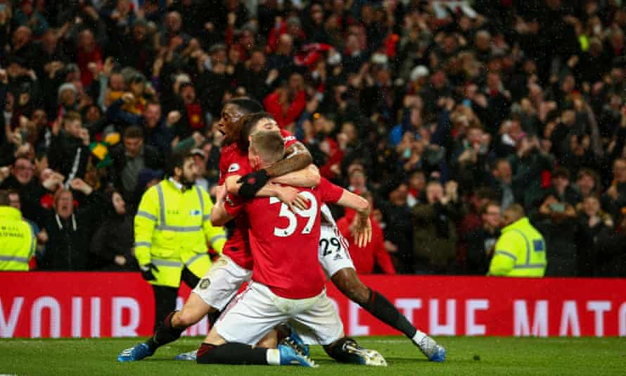 Scott McTominay's derby goal at Old Trafford.