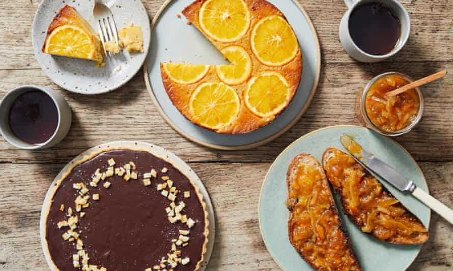 Lucy Deedes' marmalade cakes.