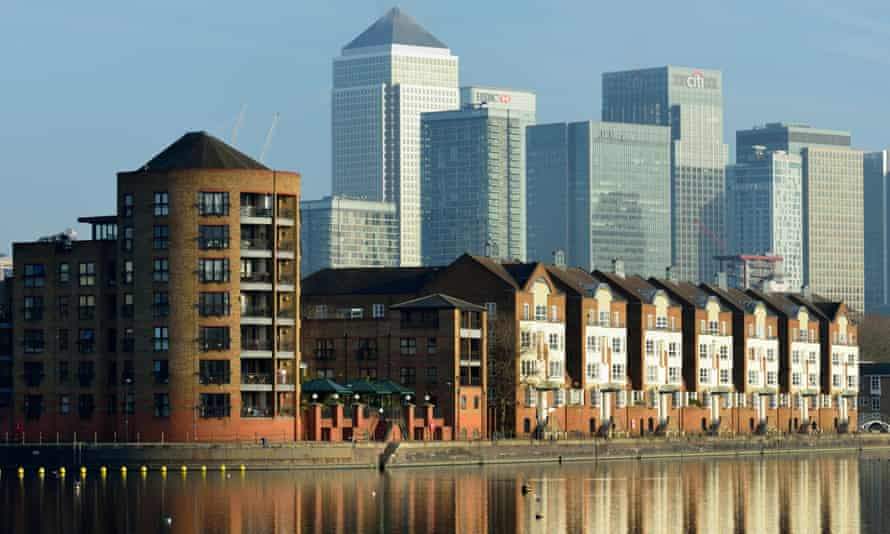Properties in Rotherhithe, south-east London