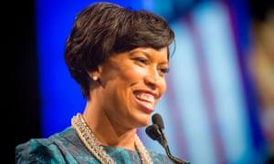 Washington DC's mayor, Muriel Bowser