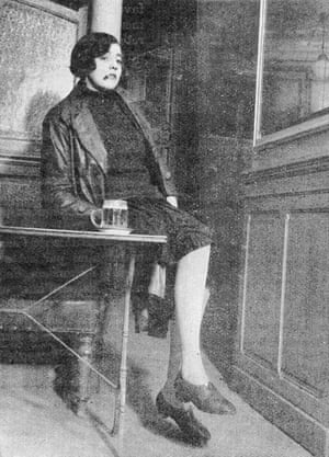Woman in bar, 1930s