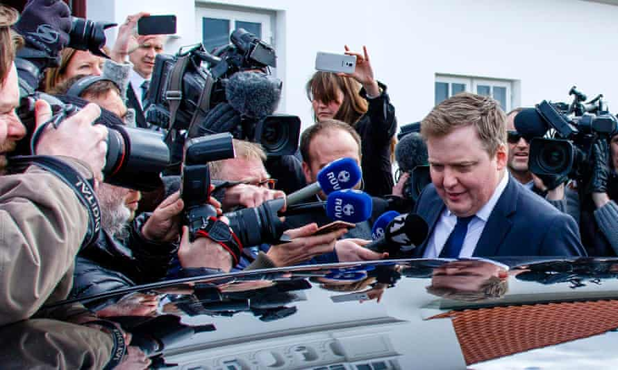 Sigmundur Davíð Gunnlaugsson resigned as Iceland's prime minister over revelations in the Panama Papers.