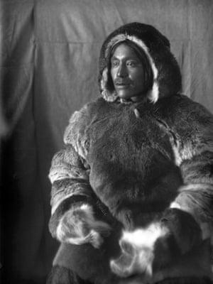 Inuit man, Toopealock, of the Kinepetoo, Fullerton Harbour, Nunavut, ca. 1904 - 1905