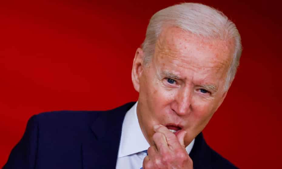 Bruised Biden tries to turn the page after US debacle in Afghanistan | Joe  Biden | The Guardian