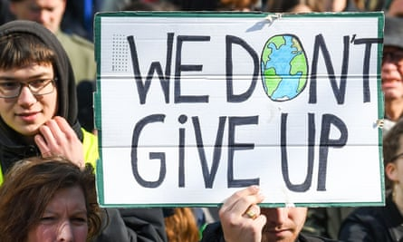 Youth for Climate protest, Brussels, Belgium, 11 April 2019.