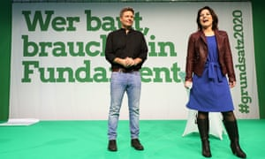 Germany's Green party leaders Robert Habeck and Annalena Baerbock wish to shape the country's fiscal policy.