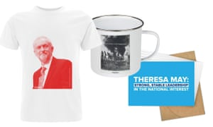 Labour and Conservative swag.