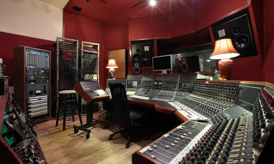 Magic Shop recording studio in Manhattan where David Bowie recorded Blackstar