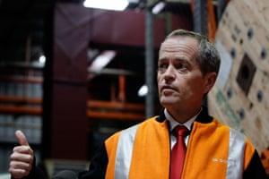 Bill Shorten in Adelaide on Thursday.