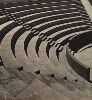 Imogen Cunningham, Mills College Amphitheatre, ca. 1920