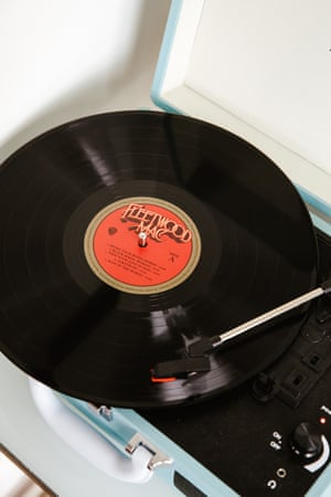 Laura's record player.