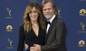 Felicity Huffman with her husband, William H Macy