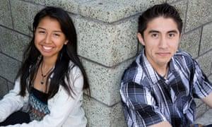 Maria Lopez Zamudio and Sean Lucas, participants in Vote Allies.
