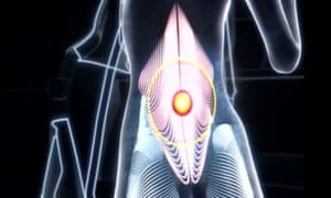 A still of the Nurofen advert, which has been banned for falsely claiming it could specifically target joint and back pain.