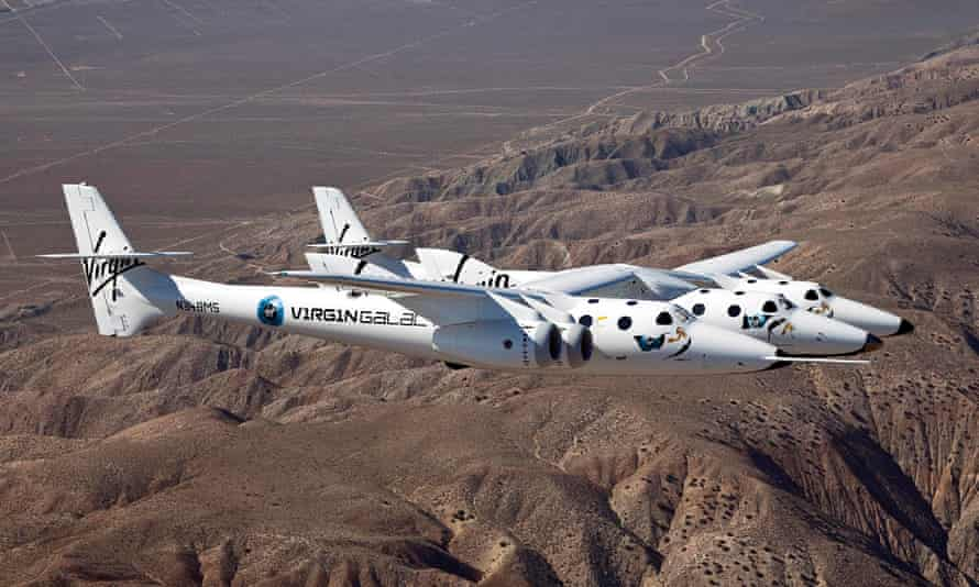 Virgin Galactic's private SpaceShipTwo