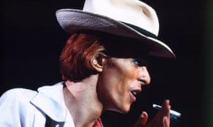 Master of disguise … David Bowie: A Life explores the man behind the mask.