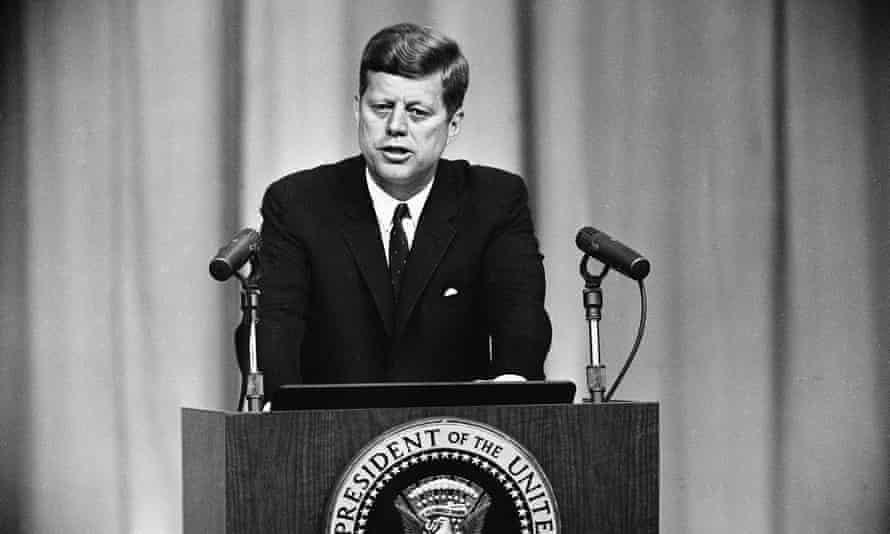 John F Kennedy during the Cuban missile crisis