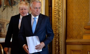 Boris Johnson and Jean-Marc Ayrault