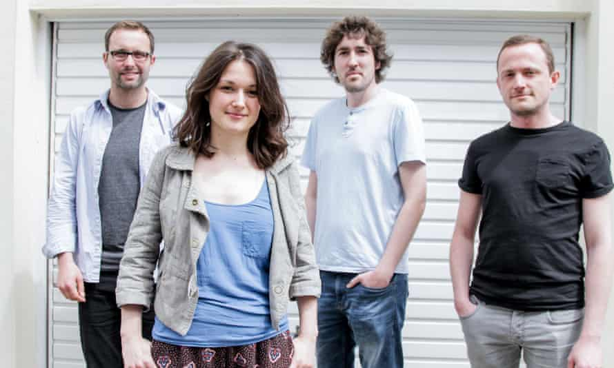 Saxophonist Trish Clowes and band