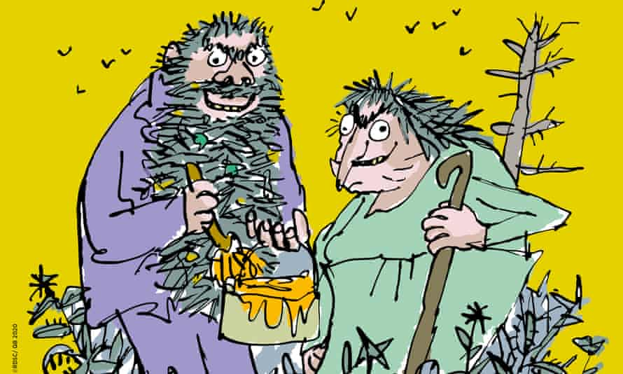 Delight and disgust ... Roald Dahl's The Twits