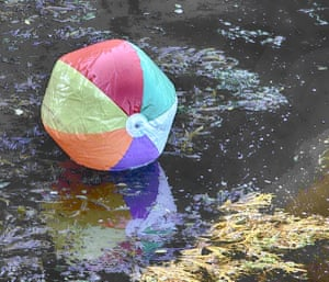 "<strong>Cushendall</strong><br>""A sad, abandoned beach ball in a river at a tourist resort in Northern Ireland.<br><br>""Says it all really.""<br><br>Photograph: <a href=""https://n0tice-static.s3.amazonaws.com/image/1438017300694e1f7f2bfe0ce92f332ea2a2fa32addff-mediumoriginalaspectdouble.jpg"">RubyShoes1</a><a>/GuardianWitness</a>"