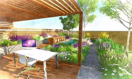 Jake Curley's garden design for RHS young designer of the year competition