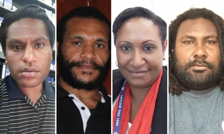 Readers across PNG shared their thoughts on Apec coming to their country, including (L-R) Isaiah Tare, Jordan Peara, Nona Susanti Diya, David Boga.