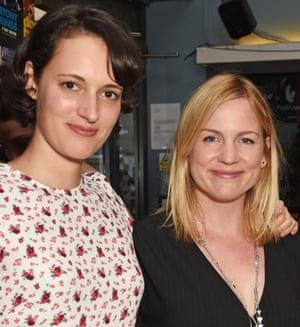 Headshot of Phoebe Waller-Bridge and Vicky Jones in July 2018