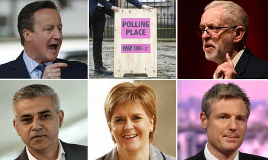 Elections are taking place across Britain on 5 May