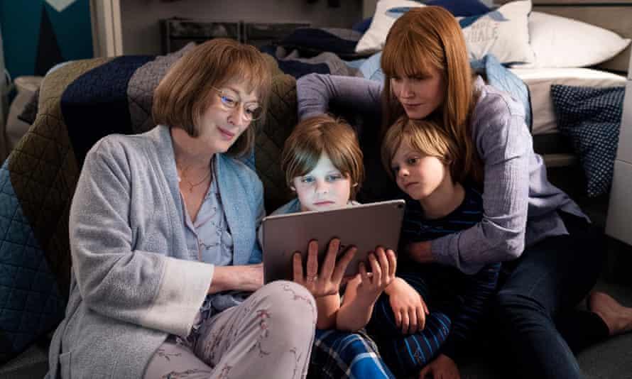 Seeker after truth: Meryl Streep (left) with Nicole Kidman (right) in Big Little Lies, season two.