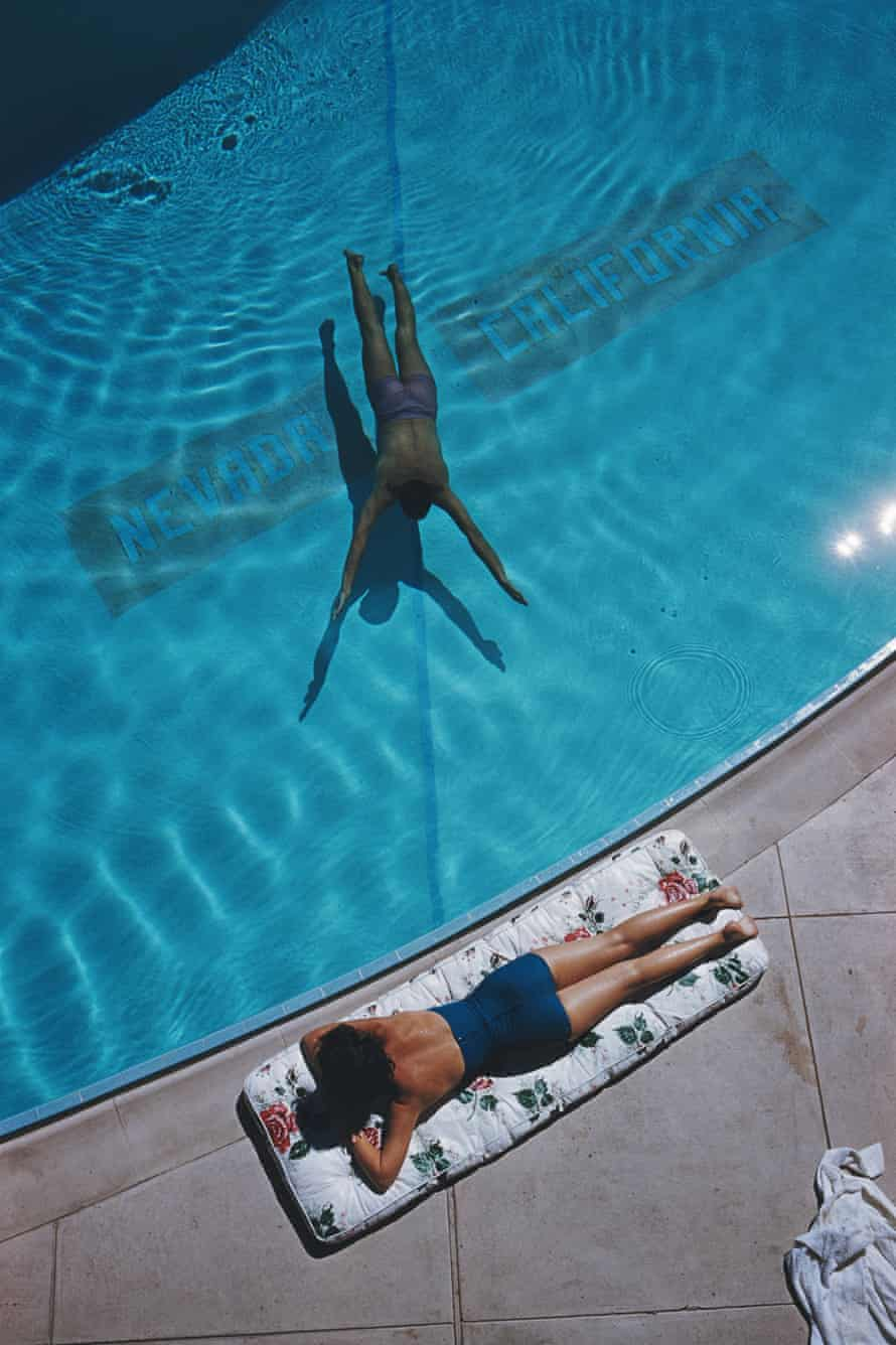 Swimmer And Sunbather, Lake Tahoe, 1959