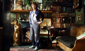 beryl bainbridge at her home in camden north london in 2001